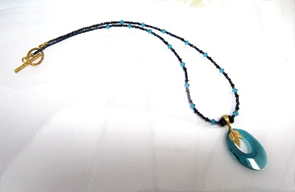 Teal And Black Cheap Fashion Jewelry Fashion Jewelry Set Teal and