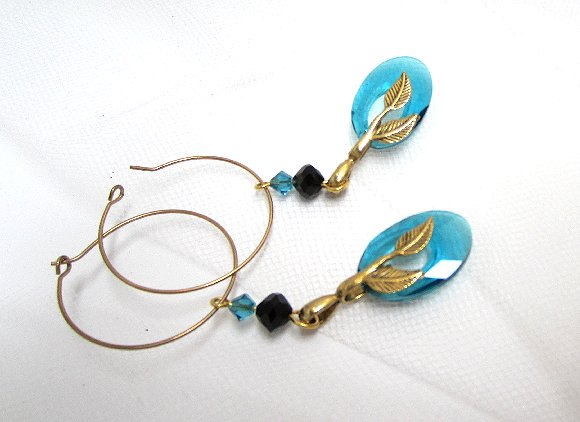 Teal And Black Cheap Fashion Jewelry Fashion Jewelry Set Teal