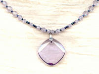 The First Metro: Sophisticated Violet Swarovski Crystal Jewelry Set